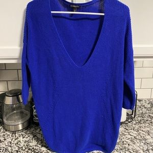 Express 3/4 length sleeve sweater